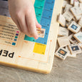 Periodic table puzzle tiles - periodic table of elements - periodic table set - homeschooling - chemistry - montessori - stem toy