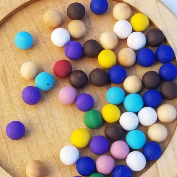 Wooden balls for the 10 counting board, extra set