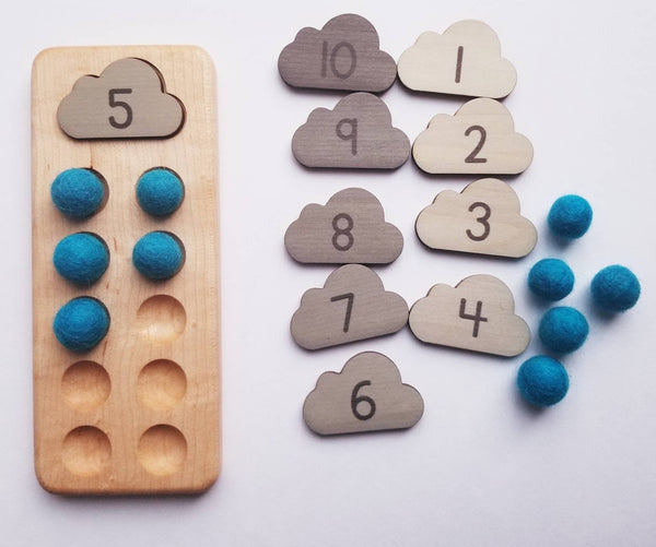 Ten frame - montessori materials- 10 frame - kindergarten math - counting