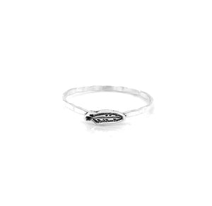 Charm Cut Out Stacking Ring, Bunny