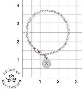 "Build Your Own Bracelet - Chain - 1/2"" Charm"