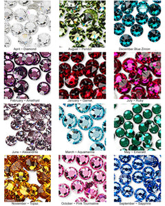 Build Your Own Earring - Stud - Swarovski Crystal