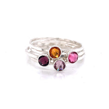 Load image into Gallery viewer, Build Your Own Ring - Swarovski Crystal Stacking Band