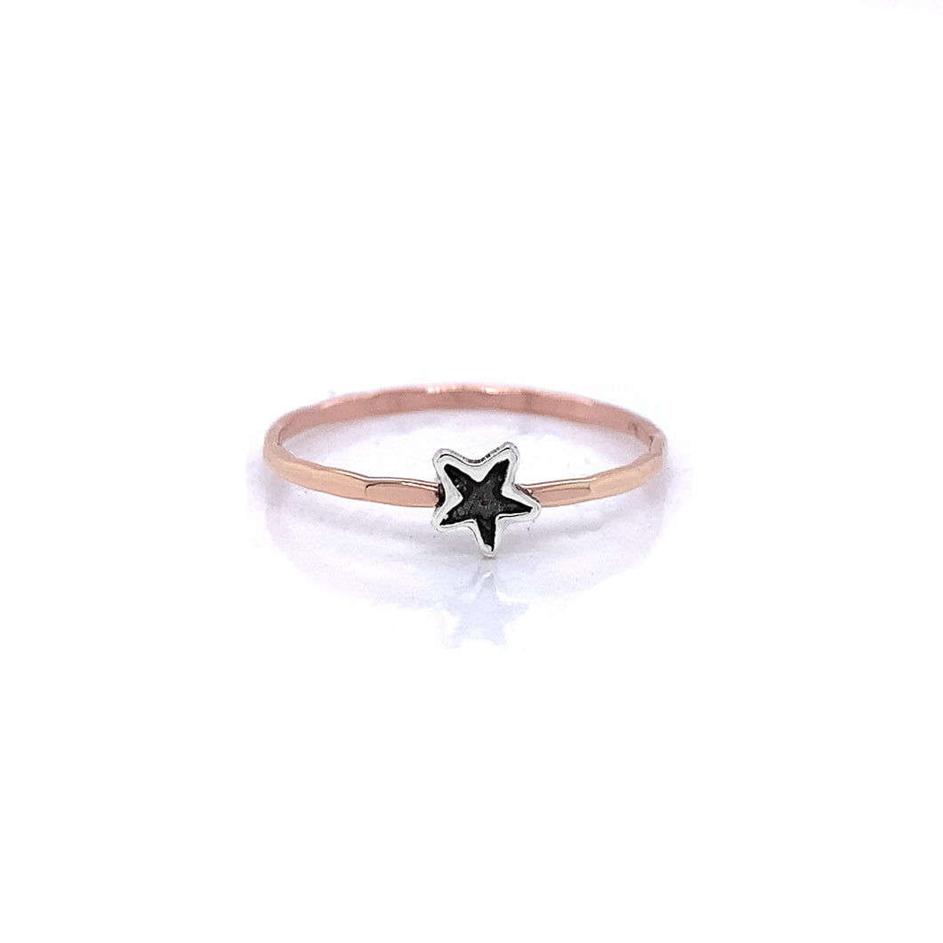 Charm Cut Out Stacking Ring, Star