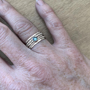 Build Your Own Ring Stacking Band Set- Silver