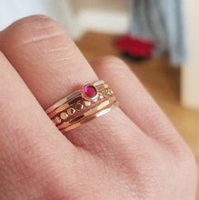 Load image into Gallery viewer, Build Your Own Ring Stacking Band Set- Gold Filled