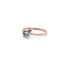 Load image into Gallery viewer, Unicorn Charm Cut Out Ring