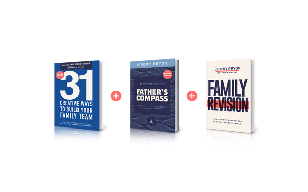 31 Creative Ways to Build Your Family Team + Father's Compass + Family Revision Bundle