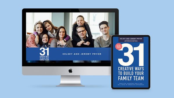 31 Creative Ways to Build Your Family Team - E-Book & Daily Videos Only