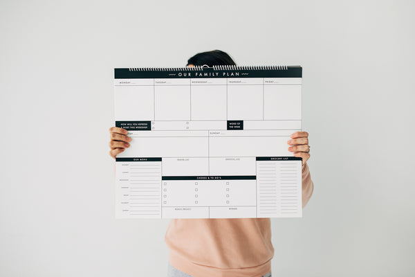 Family Plan Calendar Bundle! (2 calendars)