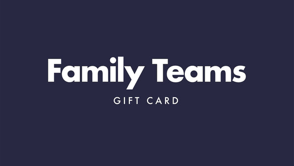 Family Teams Gift Card