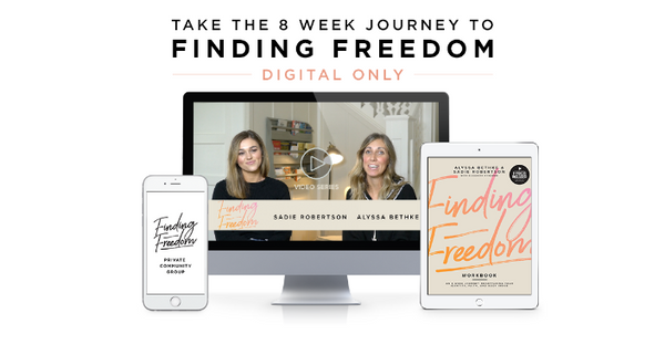 Finding Freedom Workshop (Digital) 50% OFF!