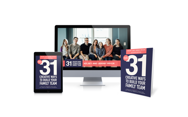31 Creative Ways to Build Your Family Team Book + 31 Daily Videos