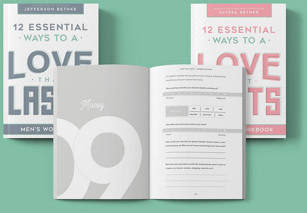Love That Lasts Workbooks For Him/Her (buy ONE bundle, get THREE free!)