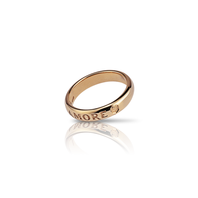 18K Yellow Gold Promessa d'Amore Ring