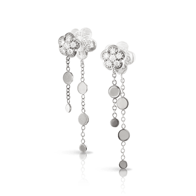 18k White Gold Fioremì Earrings with Diamonds