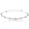 NEW 18k White Gold Figlia dei Fiori Choker with Diamonds