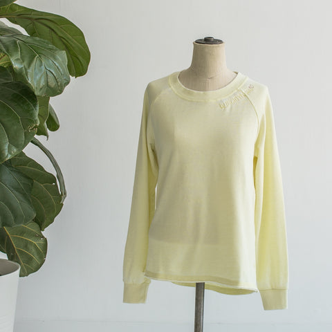 Sweatshirt - Yellow Crewneck, Be Mighty Happy