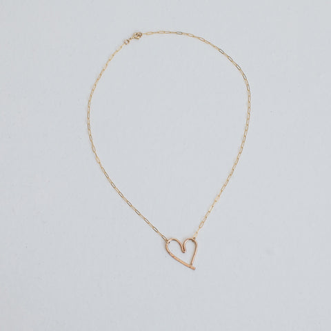 Mighty Oakes Heart Foundation Heart Necklace