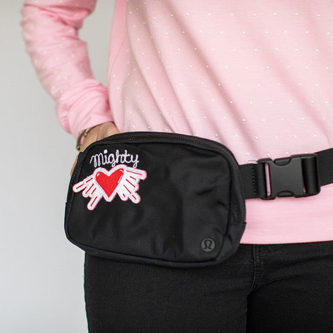 Valentine's Day - Lululemon Black Fanny Pack