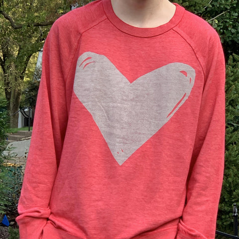 Sweatshirt - Red Heart