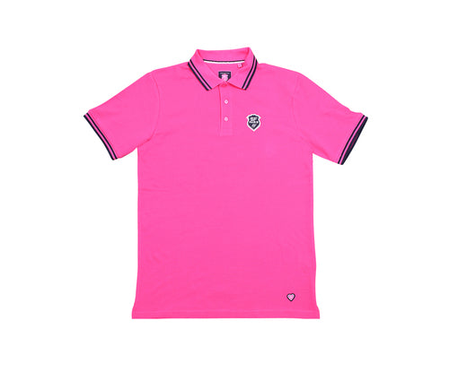 Polo Homme MC Stade Français Paris Rose