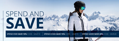 Spend & Save Snowscene