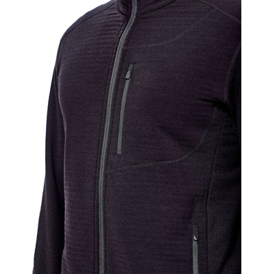 Icebreaker Mens Descender LS Zip 20