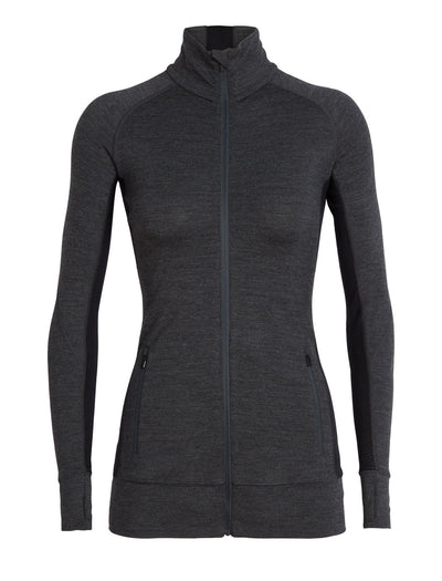 Womens Icebreaker Fluid Zone LS Zip 20