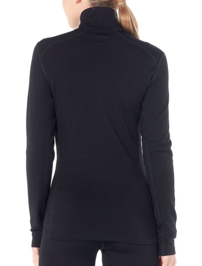 Womens Icebreaker Tech Top LS Half Zip
