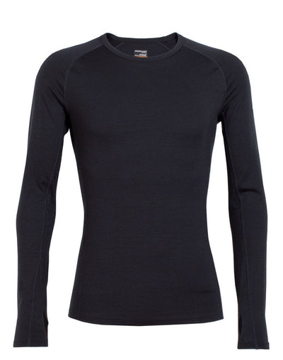 Mens Icebreaker Zone Long Sleeve Crew - 200g/m - Snowscene