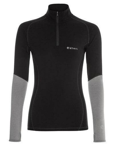 Womens Le Bent Le Peak 1/4 Zip 260g