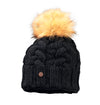 Starling Desna Real Fur Pom Beanie