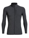 Mens Icebreaker Descender Long Sleeve Zip