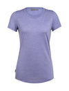 Womens Icebreaker Sphere Short Sleeve Low Crewe