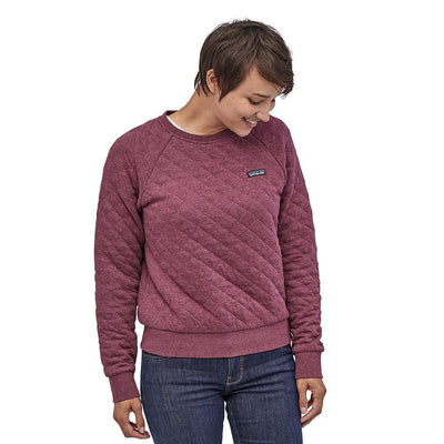 Womens Patagonia Organic Cotton Quilt Crew Neck Sweater