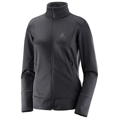 Womens Salomon Discovery Full Zip Fleece 19
