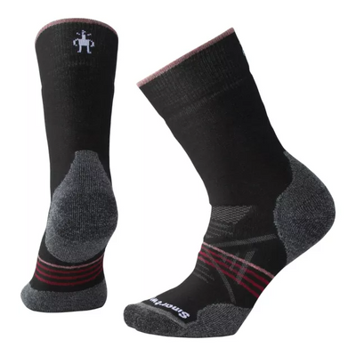 Womens Smartwool PhD® Outdoor Medium Hiking Crew Socks