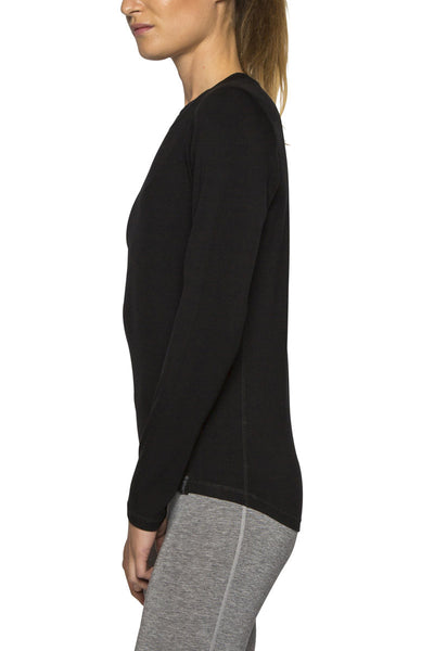 Womens Le Bent Bamboo/Merino Thermal Top - 260g/m