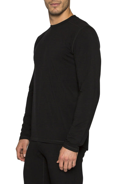 Mens Le Bent Bamboo/Merino Le Base Top - 200g/m - Snowscene
