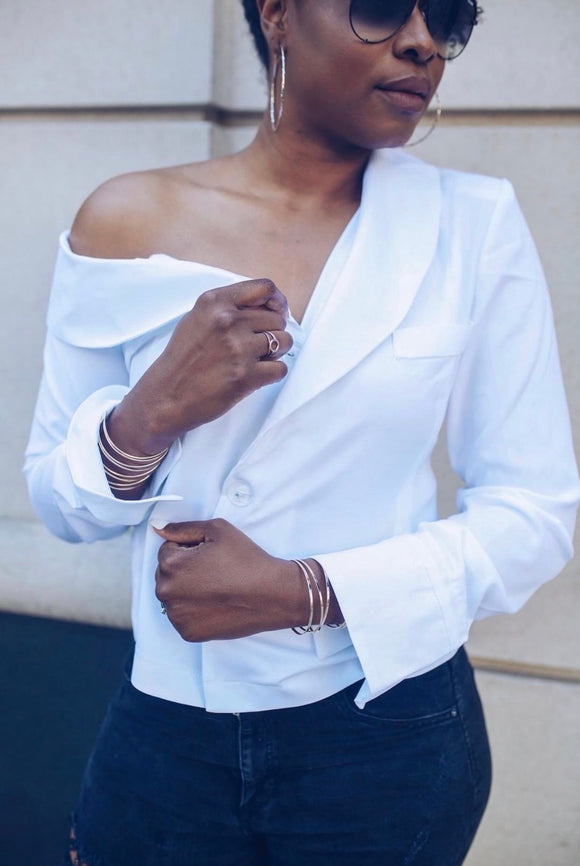Kaure Off Shoulder Blouse