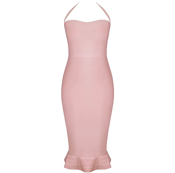 Phoebe Flared Bandage Dress