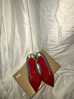 Christian Louboutin Pigalle Hawaii Jean Pump