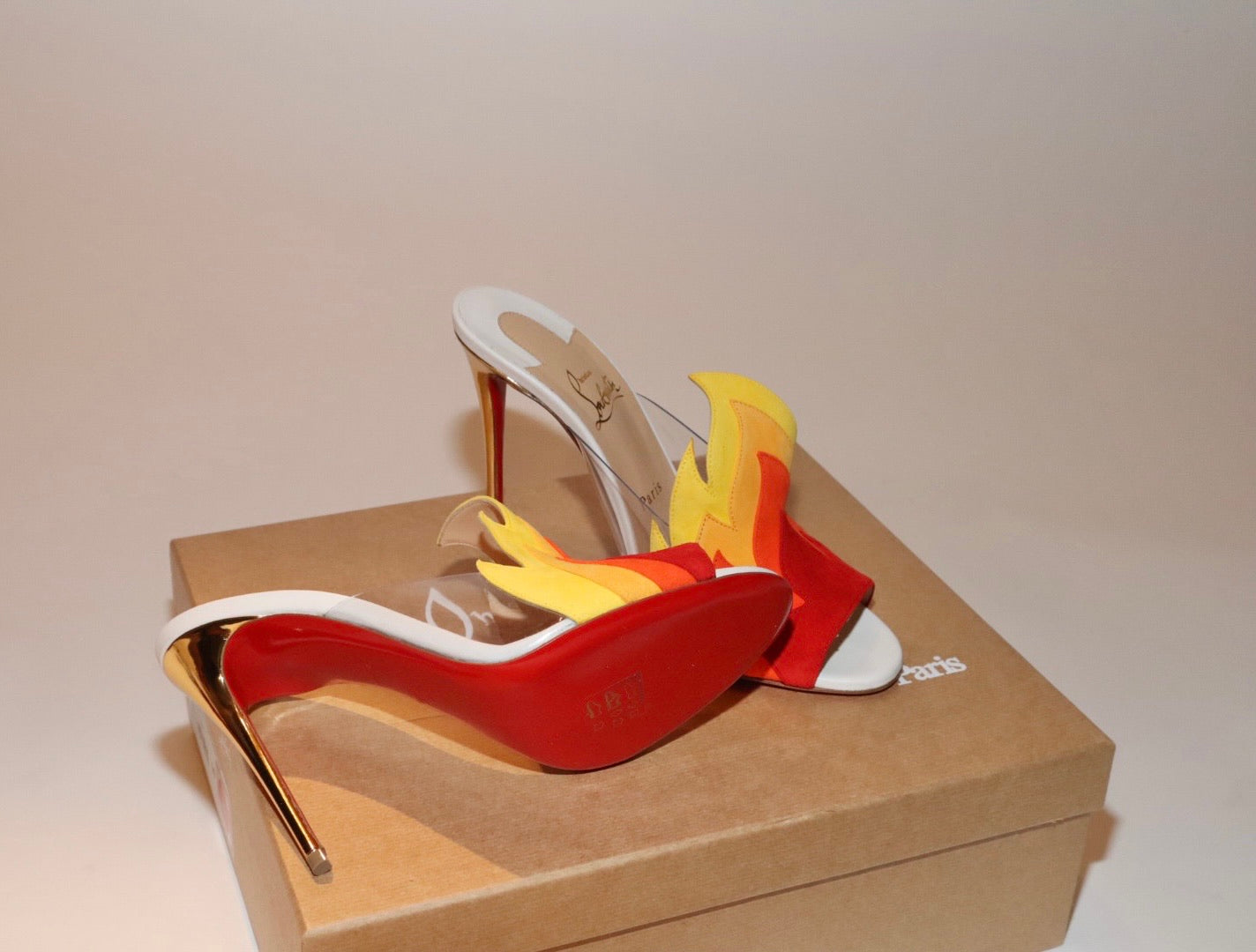 Christian Louboutin Baby On Fire Mule