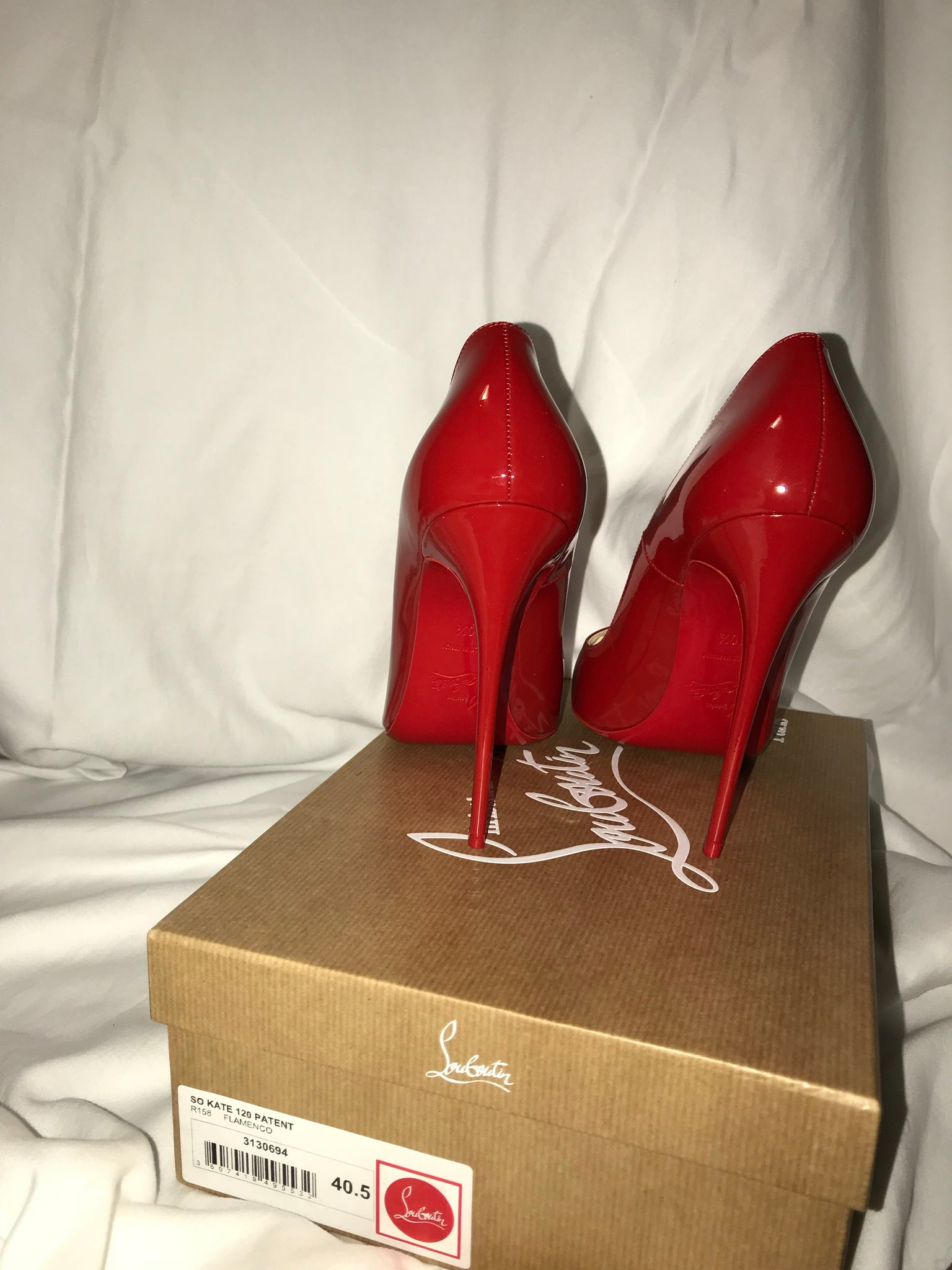 Christian Louboutin So Kate Flamenco Pumps