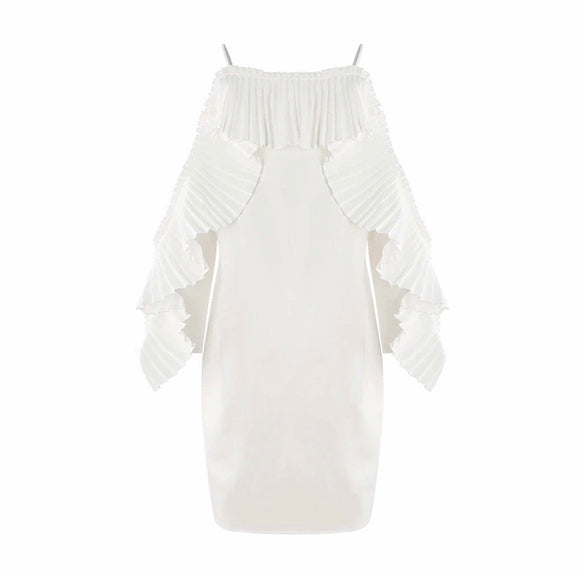 Emilina Ruffle Dress