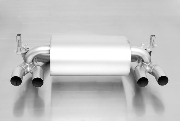 REMUS EXHAUST BMW M3 BACK BOX with CARBON FIBRE TIPS (F80)