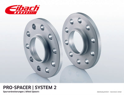 Eibach Pro-Spacer Kit (Pair Of Spacers) 12mm Per Spacer Silver