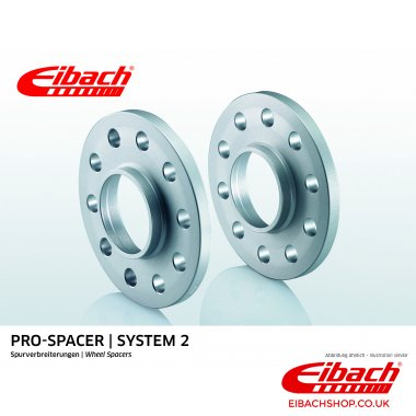 Eibach Pro-Spacer Kit (Pair Of Spacers) 15mm Per Spacer Silver