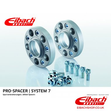 Eibach Pro-Spacer Kit (Pair Of Spacers) 20mm Per Spacer Silver